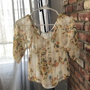 TOBI Floral summer shirt for sale